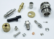 Swiss screw machined components